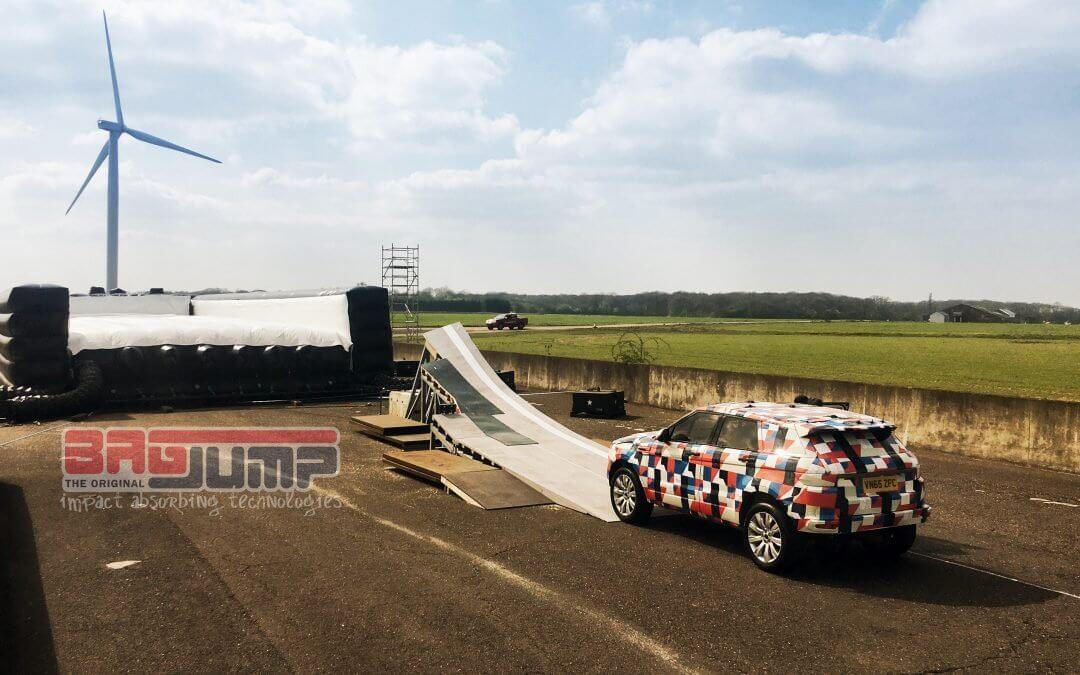 Jaguar J Pace custom Bagjump airbag