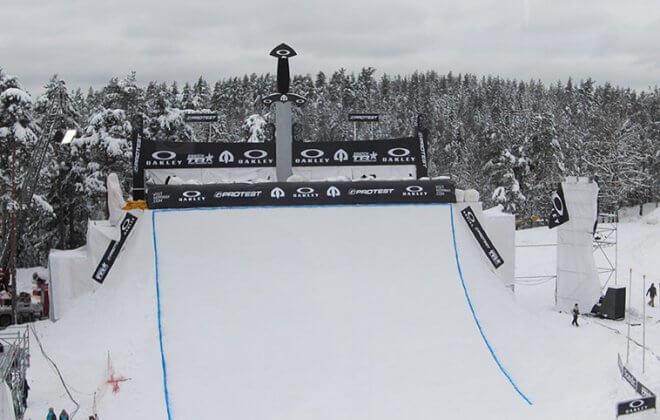 bagjump impact potection airbag snowboard halfpipe