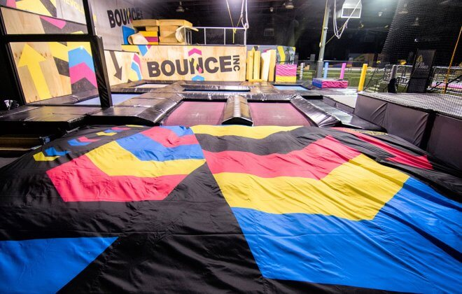 bagjump foam pit airbag bounce