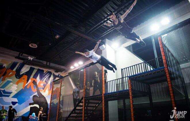 eli play bagjump foam pit airbag jump arena
