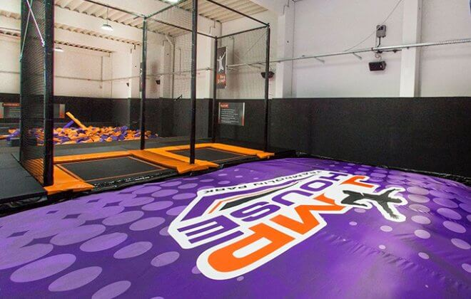 bagjump foam pit airbag jump house