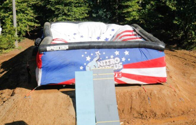 bagjump allround airbag nitro circus