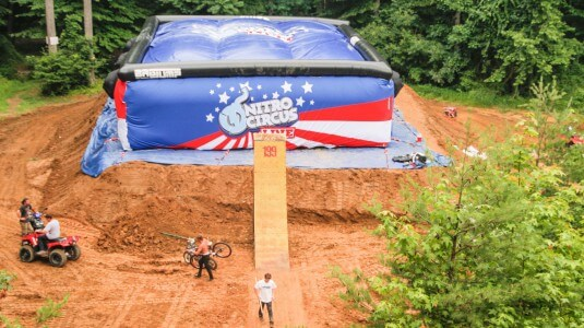 Bagjump airbag nitro circus travis pastrana-199