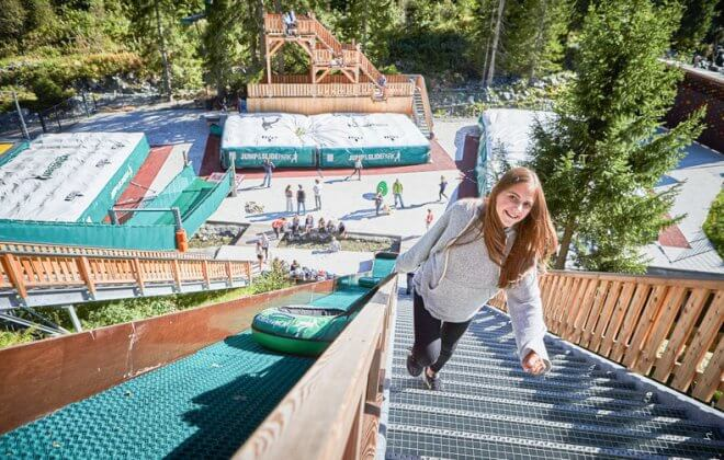 snowtube summer adventurepark Jump and Slide Saalbach