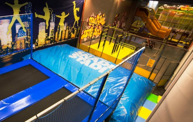 snadi trampoline station bagjump