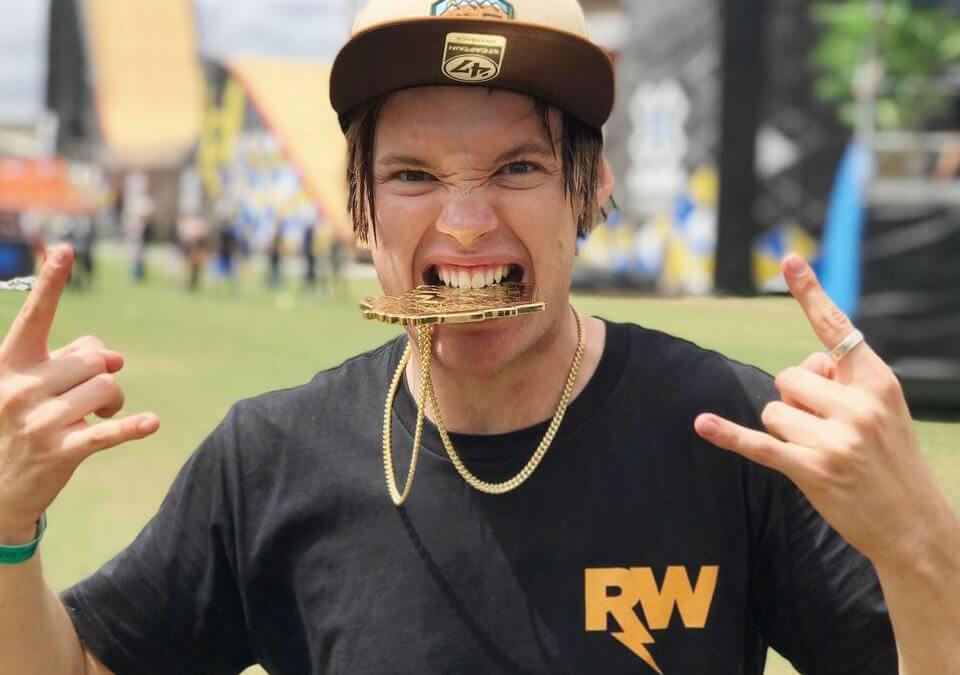 ryan williams wins X Games Sydney