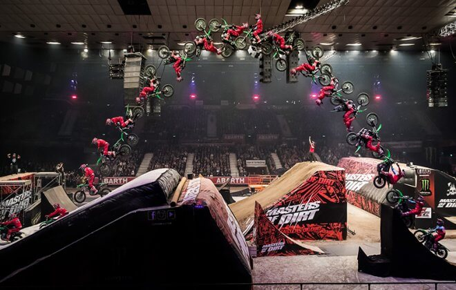 Bagjump Landing Airbag for FMX at Masters of DirtPhoto by PhilippGreindl