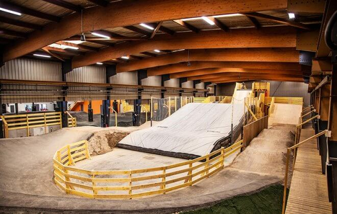 New Landinbag at We ride bike park - Indoor park